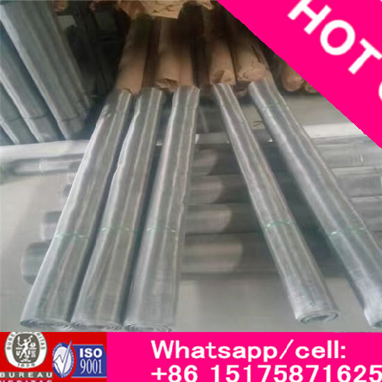 304 316 316L Stainless Steel Woven Wire Mesh/ Ss Fine Mesh Net