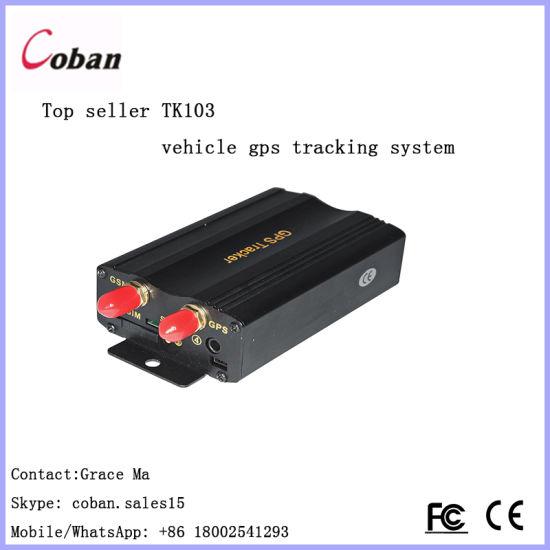 China Coban Tk103b Mobile APP and Web Tracking Platform GPS Tracker