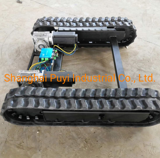 Electronic Moving Chassis Rubber Track Crawler System 700kgs pictures & photos