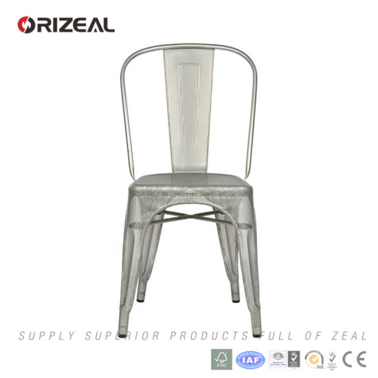 Replica Tolix Chantal Andriot Perforated a Chair (OZ-IR-1003) pictures & photos