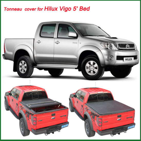 Hot Sale Vinyl Tonneau Cover For Truck For Hilux Vigo 5 Bed China Vinyl Tonneau Cover Soft Vinyl Tonneau Cover Made In China Com