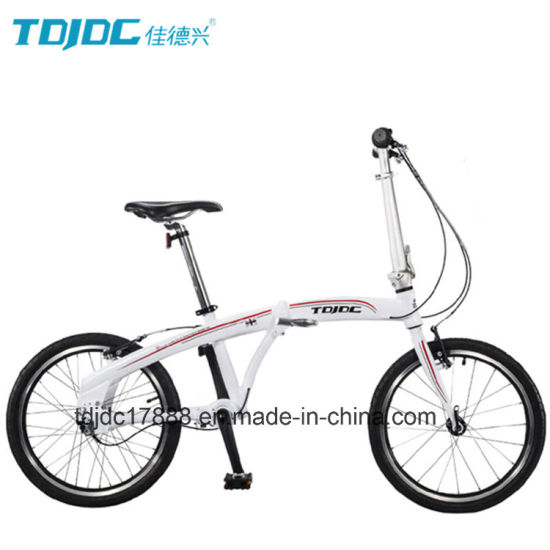 16′′ Mini Folding Bike Lightweight Bike for Ladies pictures & photos