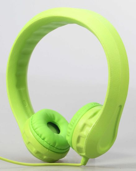 EVA Wired Kids Headphones with Non-Toxic Material (OG-K100) pictures & photos