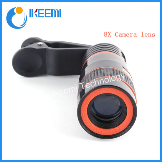 8X Zoom Telescope Telephoto Camera Lens for Samsung for iPhone Mobile Phone Lens for Xiaomi Huawei