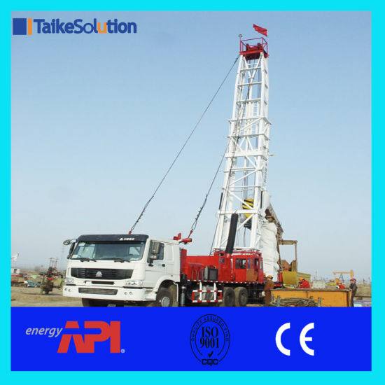 API Certificate Workover Rig Multi-Function Workover Drilling Rig with  Stardard Equipments for Oilfield Maintenance