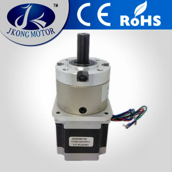 High Torque 57mm Planetary Gearbox Stepper Motor
