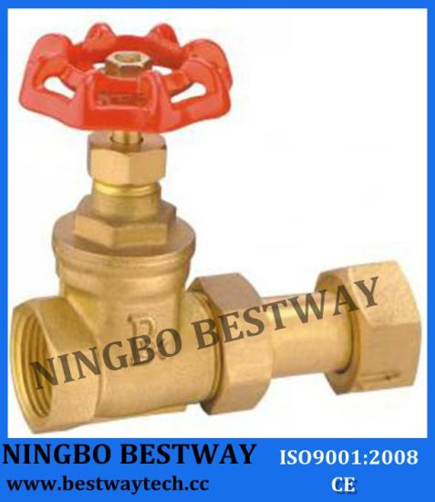 Brass Water Meter Gate Valve/Brass Gate Valve for Water Meter