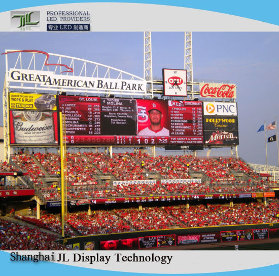 P8 Outdoor Full Color LED Display Screen for Sports Stadium/Perimeter