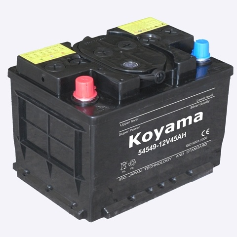 Excellant Quality Low Maintenance Free Car Battery 54549 12V45AH