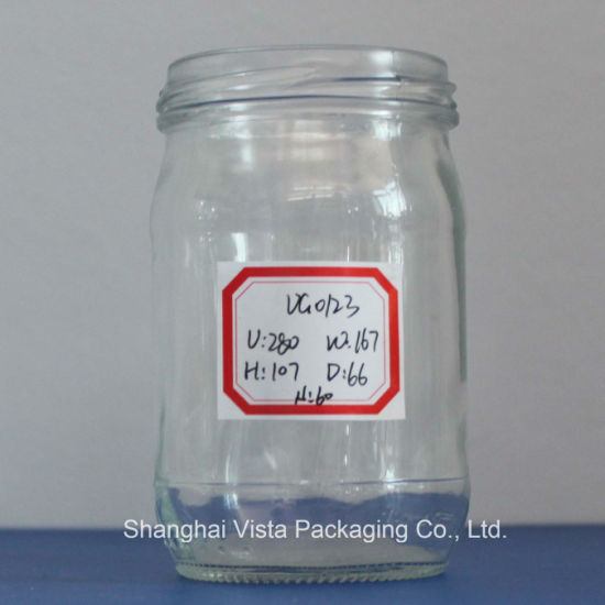 Vista Brand Clear Glass Candy Jar pictures & photos