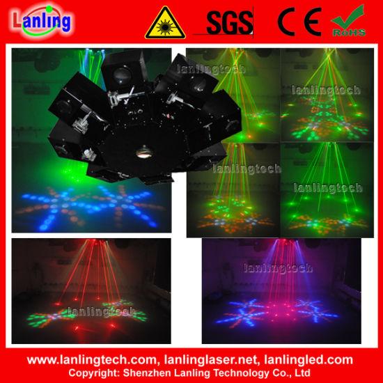 8 Claws Rg UFO Effect LED Laser Light