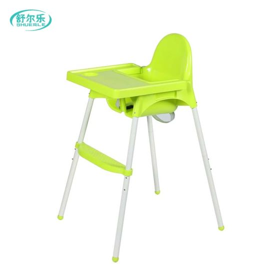 2 In 1 Baby Kids Plastic Dining Folding Table Desk High Chair Antilop