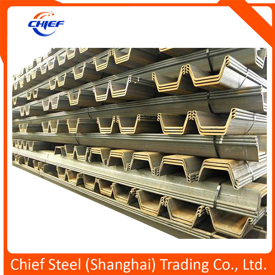 Hot Rolled U Shape Sheet Piling Sheet Pile From Building Material Factory Sy295