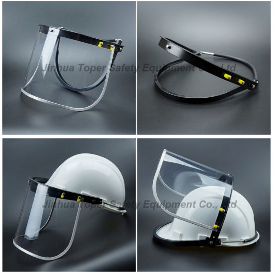 Most Popular Face Shield Bracket Use with Safety Helmet (FS4013) pictures & photos