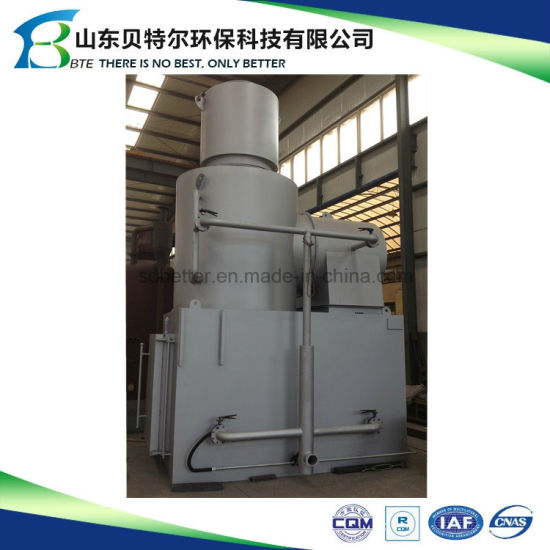 Portable Incinerator 30-100kg/H Garbage Incinerator pictures & photos