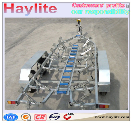 Hight Quality Boat Trailer with Leaf Spring pictures & photos