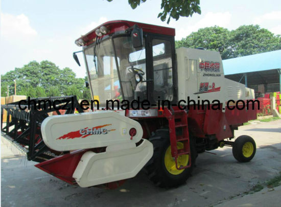 Self-Propelled Customized Used Rice Combine Harvester pictures & photos