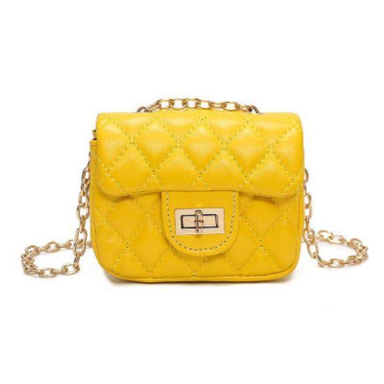 Essential Korean Fashion Children Quilted Chain Shoulder Bag Baby Girls Kids Messenger Crossbody Coin Tote Esg13567