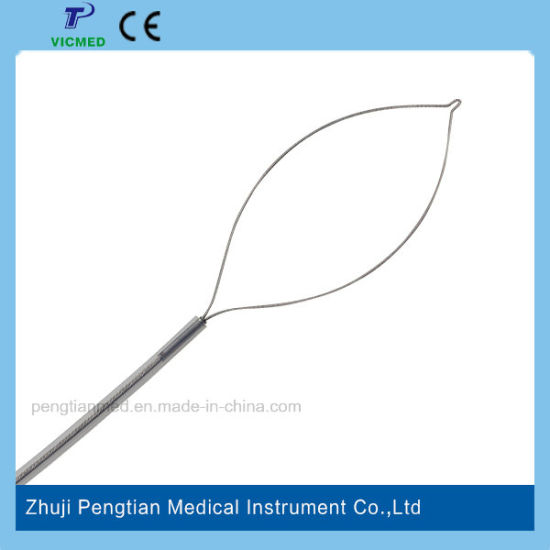 Disposable Hot and Cold Polypectomy Snare with Ce Marked for Endoscopy pictures & photos