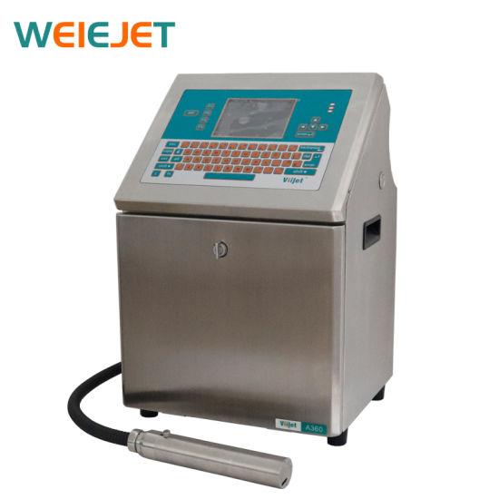 High Speed Inkjet Printer Printing Machine Industrial Inkjet Printer for Water /Juice Bottle