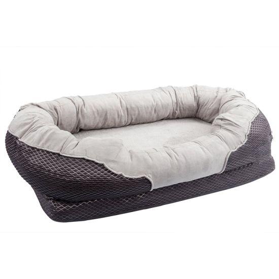 Luxury Dog Mattress Orthopedic Pet Sofa Bed