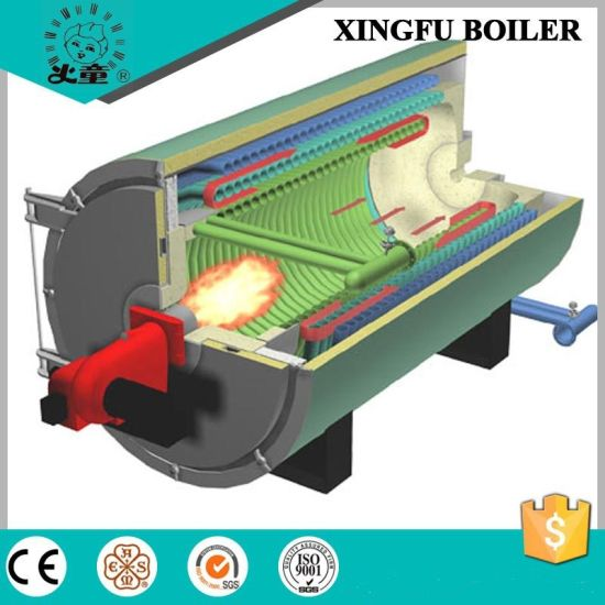 China Industrial Diesel Oil or Natural Gas Fired Steam Boiler ...