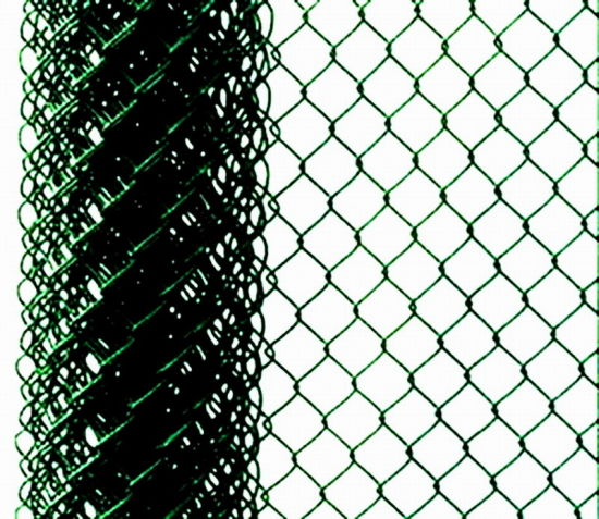 China PVC Coated Iron Wire Mesh Chain Link Fence Netting (anjia-175 ...
