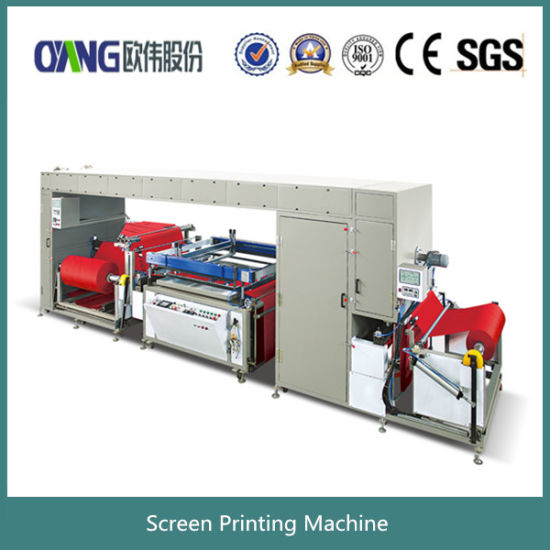Roll to Roll Screen Printing Machine pictures & photos