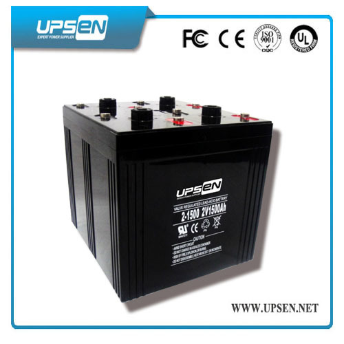 Solar Battery PV Battery Solar Deep Cycle Battery 2V 1500ah