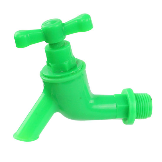 Plastic PP Light Kitchen Water Tap for Garden Basin Washing Machine