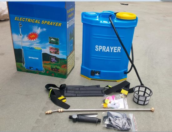 16L China Knapsack Battery Sprayers Factory pictures & photos