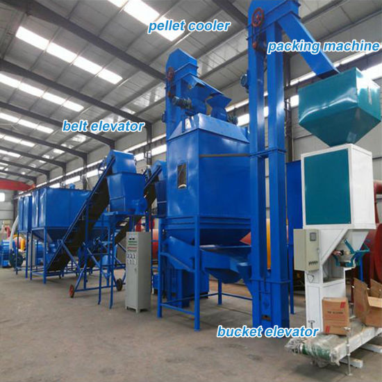 Pelletizing Production Line Pellet Mill Machinery pictures & photos