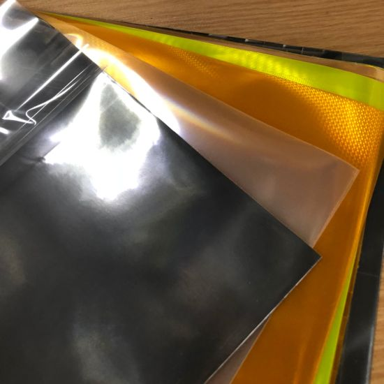 Wholesale Reflective PVC Sheet Plastic Material with En471 Standard pictures & photos
