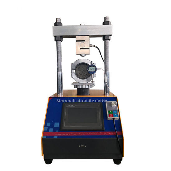 Asphalt Marshall Stability Test Machine with Touch Screen
