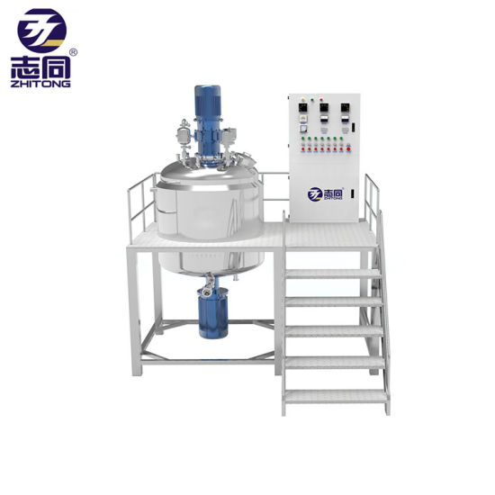 PVC Mixer Tank for Chemical / Pharmacy / Cosmetics Liquid Products