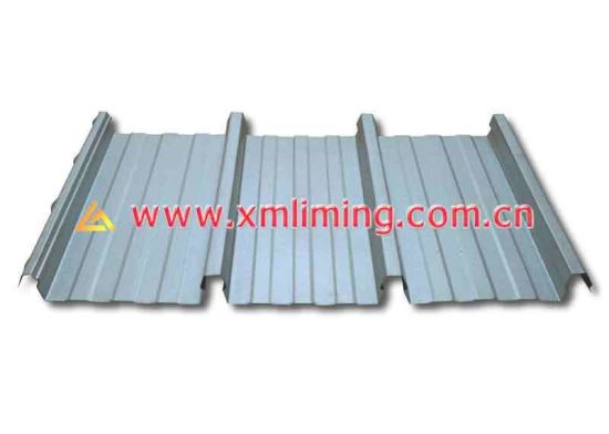 Yx700 Galvanized Steel Roof Panel Kliplock Roof Roll Forming Machine with Ce/ISO9001