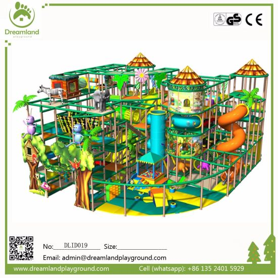 Big Commercial Amusement Park Soft Play Indoor Playground Equipment for Sale