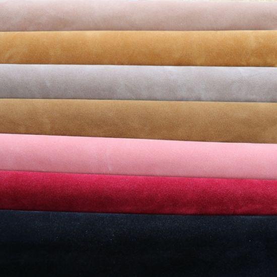 Xishi Flocking, Double Side High Quality Xishi Flock Shoe Fabric