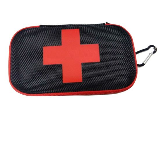 Factory Wholesale Top Grade Portable Shockproof Protective Medical First Aid Tool EVA Case with Zipper Closure
