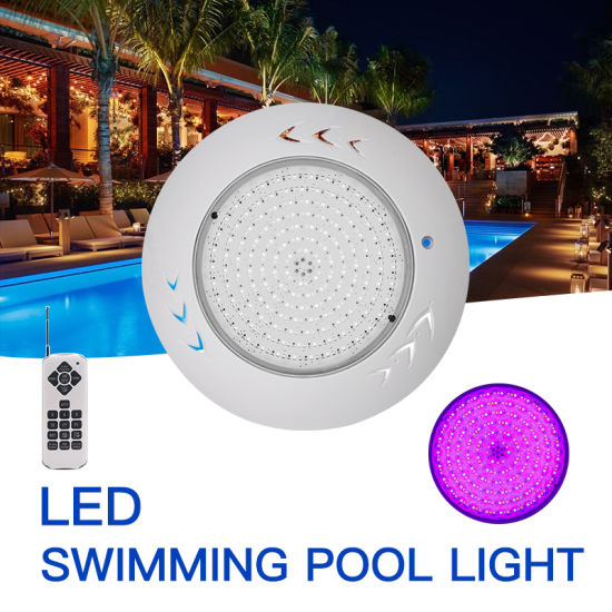 Huaxia IP68 RGB 12V 3000lm Resin Filled Lighting Underwater LED Swimming Pool Light