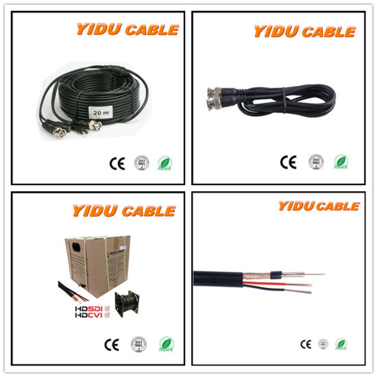 RG6 Rg58 Rg59 CCTV Cable CCTV Camera Cable Rg59+2c Power