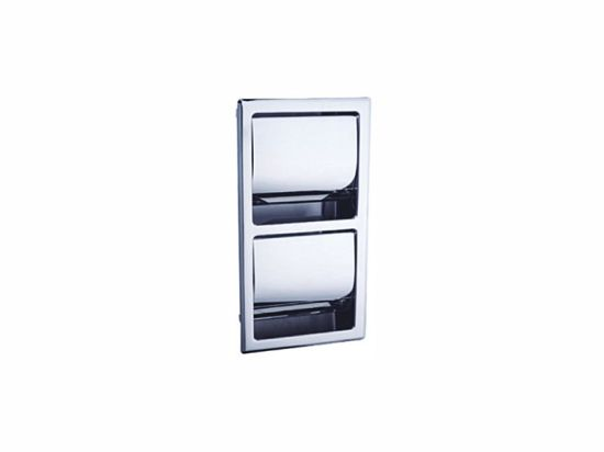 Wholesale OEM Design Easy Installation Wall Mounted Waterproof Steel Toilet Roll Holders with Cover