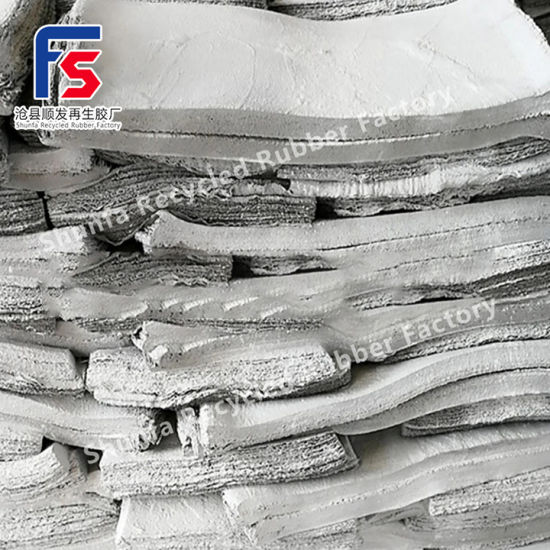 White Recycled Rubber, Aging Resistant Recycled Rubber, PP Recycled Rubber