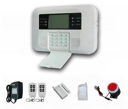 Wired Wireless PSTN GSM Alarm System with LCD (ES-2040GSM-B)