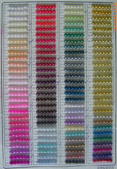 High Quality Plastic Beads for Decoration