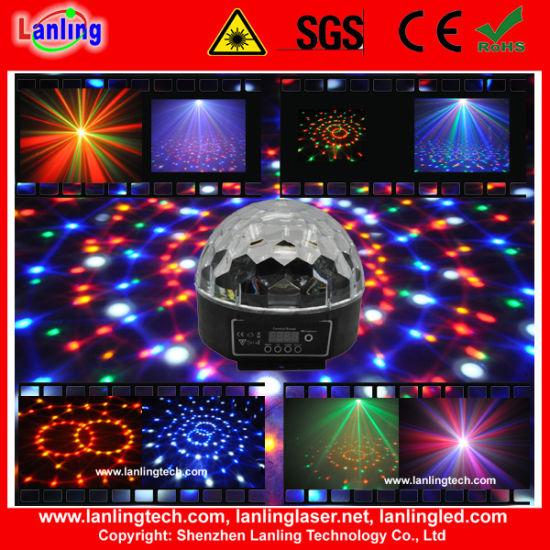 New 6W RGB Crystal Magic LED Disco Ball Light