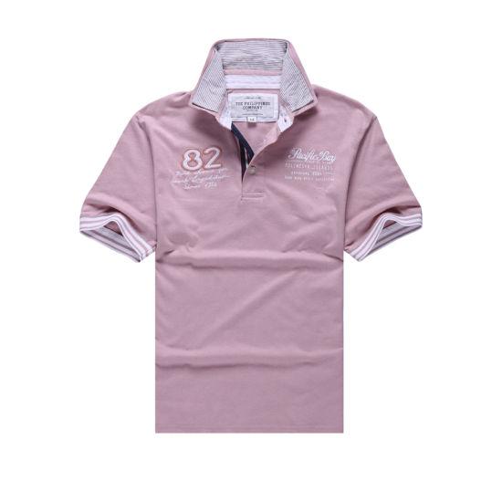 145ab4e7 China Custom Design Man 100% Polo T-Shirt - China Man Polo T-Shirt ...