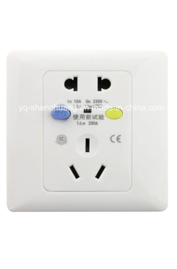 china white new ground fault circuit breaker outlet china fault rh yq shenchuang en made in china com
