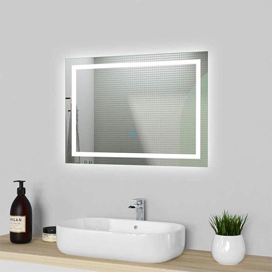 LED Bathroom Mirror Wall Mounted Illuminated 700 X 500mm