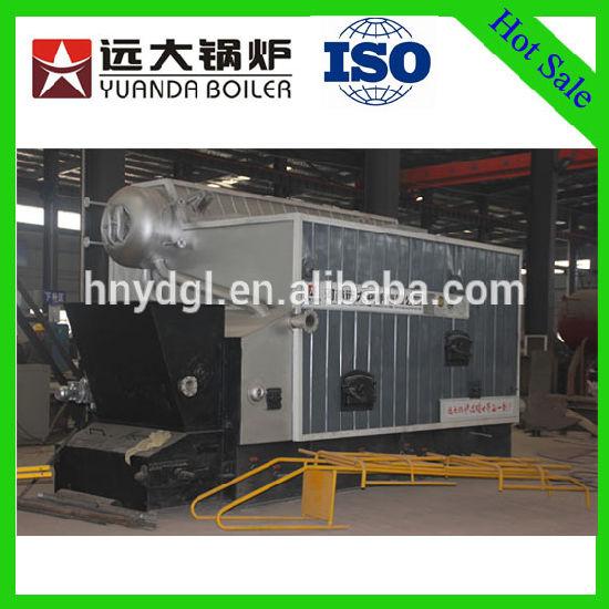 China Biomass Fired Boiler Rice Husk Waste Boiler Steam Water Boiler ...